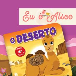 LIVRO COM SONS E TEXTURAS DO DESERTO É LANÇAMENTO PARA BEBÊS